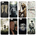 The Walking Dead Zombie Rick Daryl Dixon Wings Soft Phone Case Coque Fundas For iPhone 7 7Plus 6 6S 6Plus 5 5S SE 5C 4 GALAXY