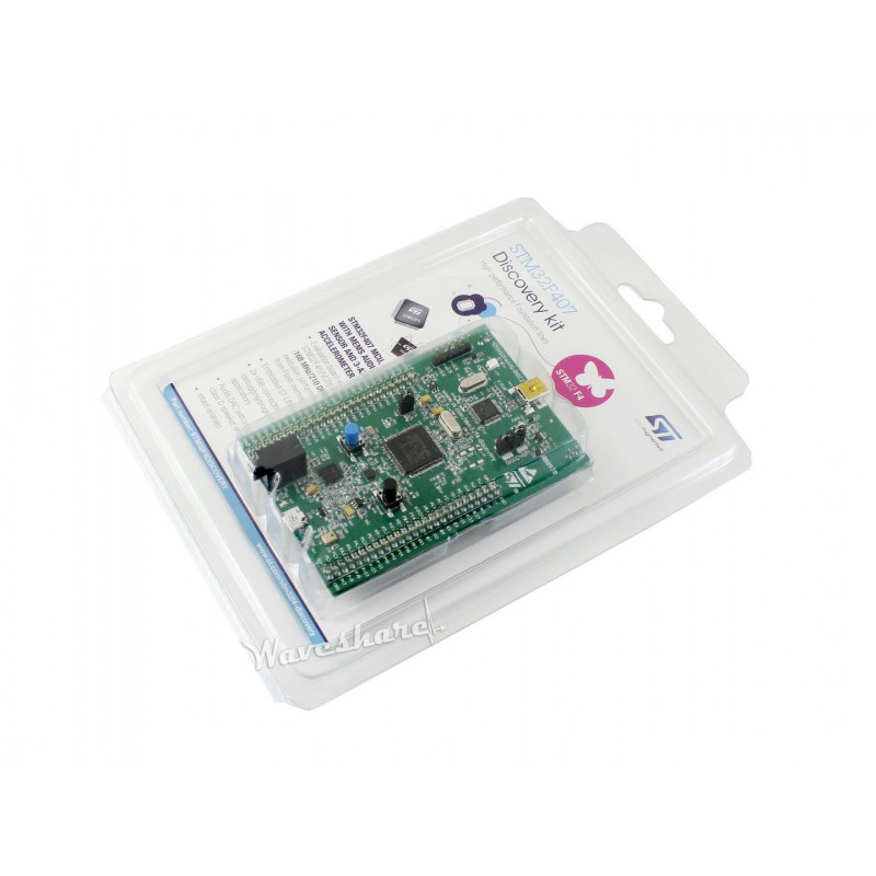 module STM32F4DISCOVERY STM32F4 Discovery Kit 32 bit ARM Cortex M4F core 1 MB Flash 192 KB
