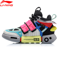 Li Ning FW Women ESSENCE ACE+ Wade Culture Shoes Genuine Leather Wearable LiNing Sport Shoes Sneakers AGWP018 XYL244