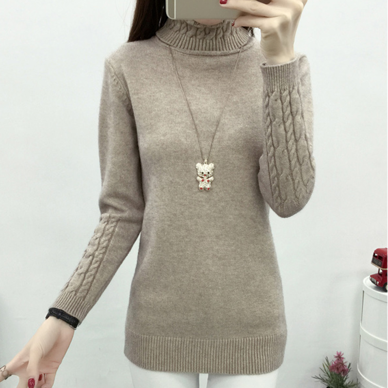 a1af494208 OHCLOTHING Women Turtleneck Winter Sweater Women 2018 Long Sleeve Knitted  Women Sweaters And Pullovers Female Jumper Tricot Tops