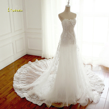 Loverxu Robe De Mariee Sweetheart Wedding Dresses 2019