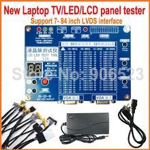 Новое обновление ноутбука ТВ/lcd/светодиодный набор инструментов для тестирования набор ЖК-панели тестер поддержка 7-84 дюймов LVDS интерфейс 14/линия экрана
