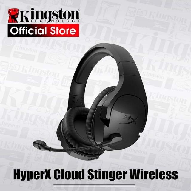 Kingston HyperX Cloud Stinger ชุดหูฟังไร้สายพร้อมไมโครโฟนสำหรับ PS4 และ PS4Pro