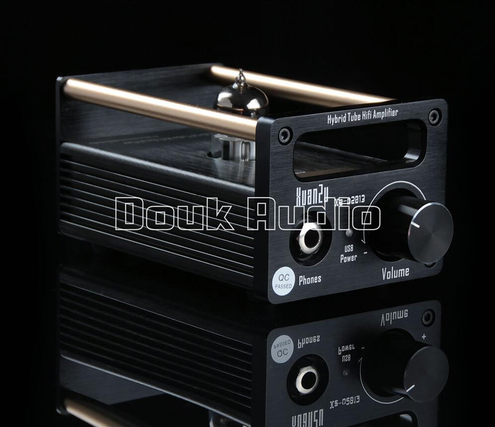 2016 Douk Audio Hybrid Class A 6N11 Tube Amplifier / USB DAC / HiFi Preamp Free Shipping tube amplifier hifi shuguang kt100 2 x 15w dual mono block integrated single ended russian 6h1 preamp usa 6ak5 driving amplifier