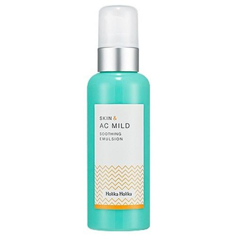 Holika Holika Skin & AC Mild Soothing Emulsion 130ml 130ml for Acne Trouble Skin Moisturizing Korea Cosmetic holika holika успокаивающая эмульсия скин энд ac милд 130 мл