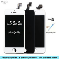 For Iphone 5 5C 5S 6 6S LCD Display Touch Screen Front Glass Digitizer Glass Assembly