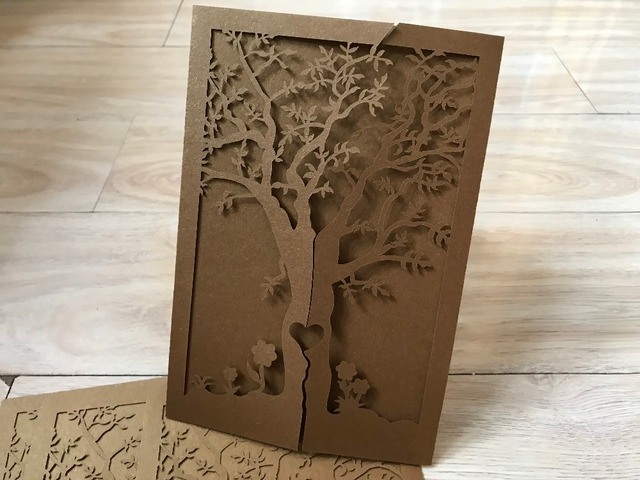 75pcs Tree Design Kids Baby Shower Party Birthday Party Greeting