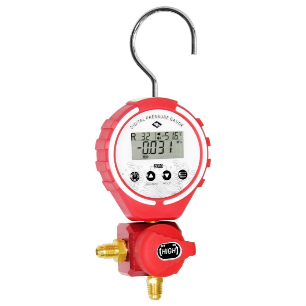 Air conditioning pressure Repair Tool Air Conditioner Fluoride Tube Refrigerant Connector Cold Pressure Gauge