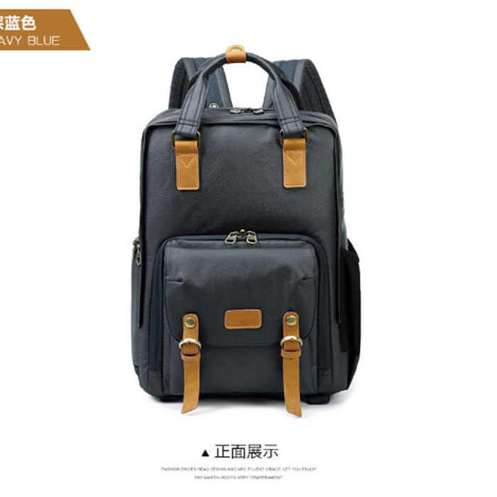 Высококачественный водонепроницаемый тканевый женский рюкзак унисекс мужские рюкзаки для ноутбука женская сумка для ноутбука рюкзак синий/хаки ArmyGreen