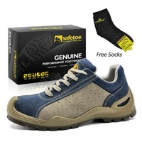 Steel Toe Cap Casual Hiking And Climbing Work Safety Shoes Men Platform Shoes Durable Summer Lace