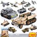 Строительные блоки 1061 шт.  городские блоки  армейские строительные блоки для грузовиков  военный автомобиль  Playmobil  строительные игрушки для...