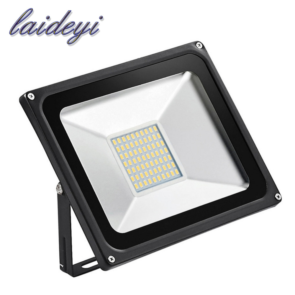 5 stk Led Flood Light udendørs lys 50W 220V 3000LM 70LED SMD5730 Led Floodlights For Street Square Spotlight Outdoor Wall Lamp
