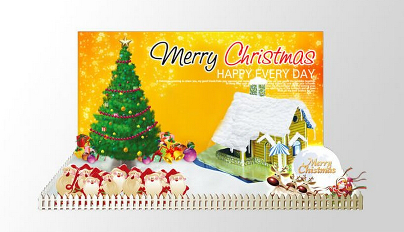 2019 25x19cm Multicolor Paper Grow Magical Christmas Home Box Tree Magic Growing Trees Discovery Kids Toys Science For Children in Gags Practical Jokes from Toys Hobbies