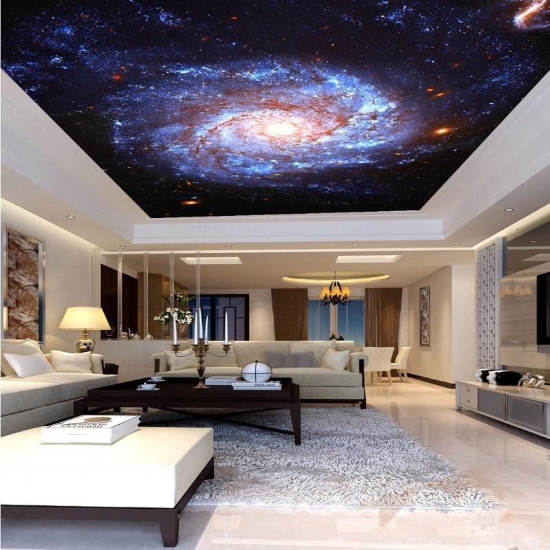 US $12.61 30% OFF|3D fototapete Fantasie nebula whirlpool decke fresko  wohnzimmer hintergrund wand schlafzimmer hotel mural KTV bar tapete-in  Tapeten ...