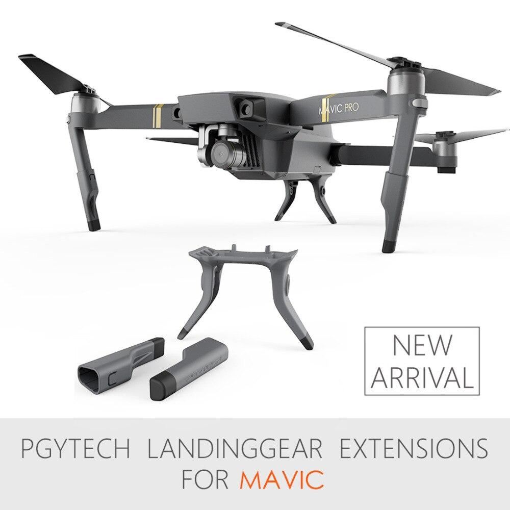 PGYTECH 5pcs set Whole Sale Extended Landing Gear Leg Support Protector Extension Replacement For Mavic Pro