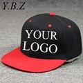 YBZ Tampas Snapback Em Branco Bonés de Beisebol Hip Hop Chapéus Net Personalizado Impressão DO LOGOTIPO Adulto Chapéus Casuais Chapéu Pontudo 10 pçs/lote