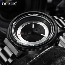 Break Original Photographe Creative Unique Montres Hommes Marque De Luxe Mode Casual Sport Quartz Montre Relogio Masculino 2016