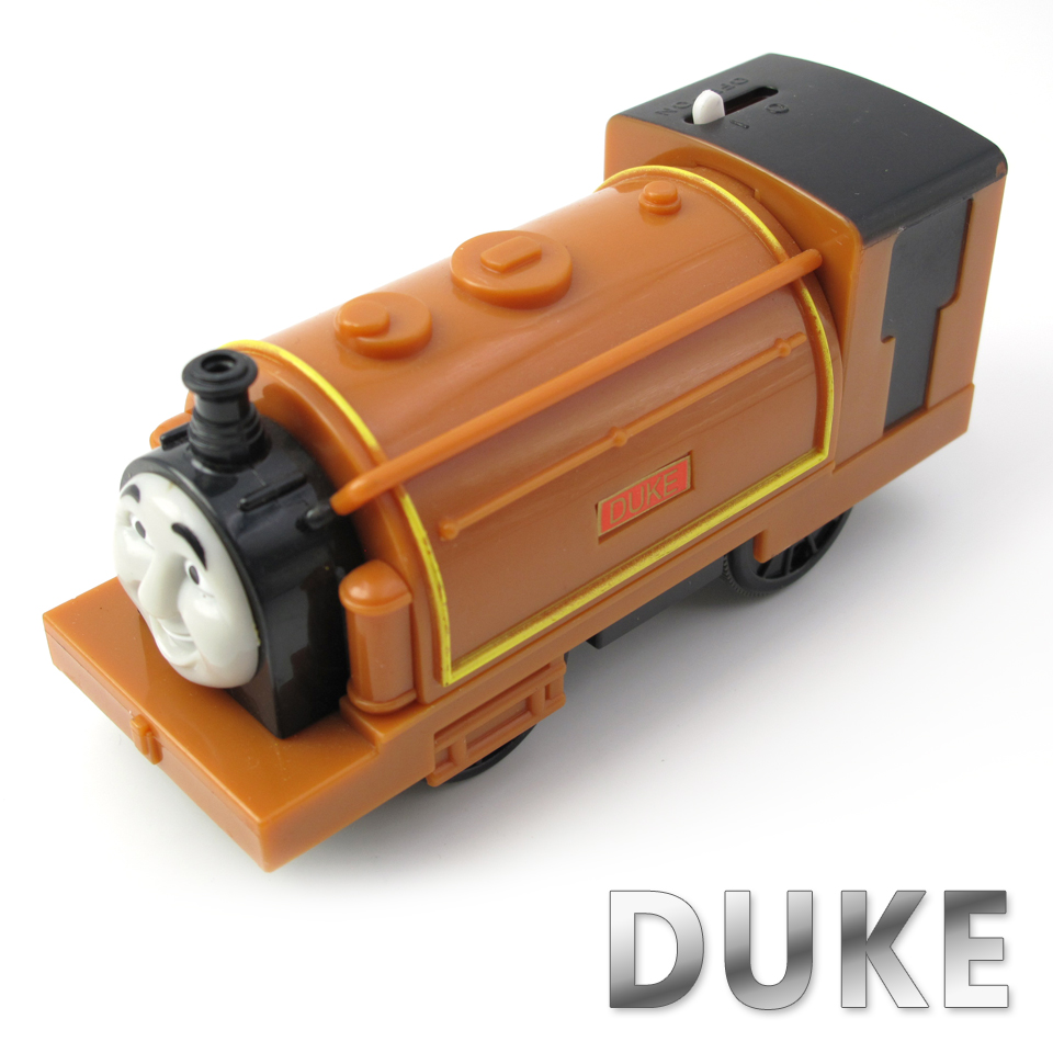 Electric Thomas Train T045E DUKE Thomas And Friends Trackmaster Magnetic Tomas Truck Car Locomotive Engine Railway Toys for Boys