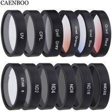 Accesorios para Cámara de Acción Mijia Mini 4K, filtro Protector de lente UV/CPL/ND4/8/16/32 Polar para Xiaomi Mi jia 4K, cámara deportiva