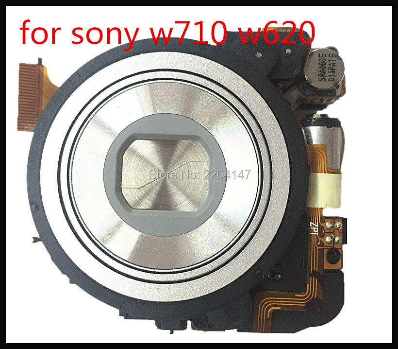 100% new Original zoom lens unit Without CCD Repair parts For Sony DSC-W620 W710 S5000 Digital camera free shipping 98%new camera lens unit without ccd for panasonic lumixdmc lx1 lx1 lens zoom unit assembly camera silver