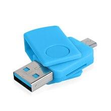 Мини USB Card Reader OTG Micro USB Карты ПАМЯТИ USB 2.0 Адаптер Карт Памяти Высокого Качества Комплект Для Подключения К ПК смартфон