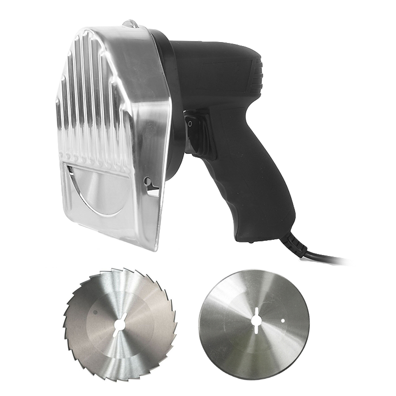 ITOP Electric Kebab Slicer Doner Kebab Cutter Shawarma And Gyros Cutter Kitchen Knife With 2 Blades Meat Slicer Food Processors