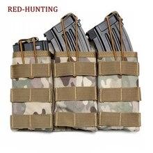 Тактические 3 мешочки для магазинов Molle, практичная сумка для выживания, уличная поясная сумка, дорожная сумка для инструментов