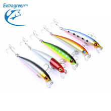 5 Colors/lot Fishing Lure Minnow 8.5cm 6.7g Plastic Fishing Gear Hard Bait Fish Accessories Cheap Fishing Tackle China Products