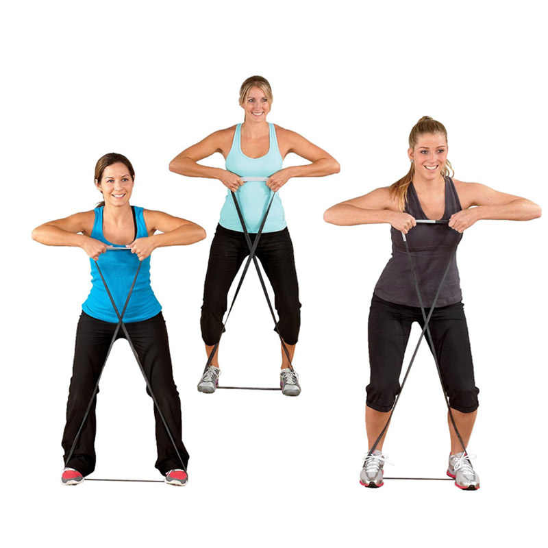 208CM odporność zespoły lateksowe ćwiczenia trening siłowy podciągnąć pętle CrossFit dla Gym sport sprzęt Fitness joga 19ing