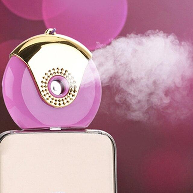 Mini facial steamers