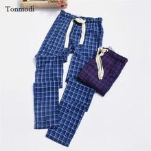 Pants for Men 100% slanting Stripe Cotton Cloth Pajama Pants