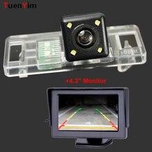 Wodoodporna kamera z tyłu samochodu dla Peugeot 307 307CC 308 308CC 3008 3008C 408 508/Lifan 520X60X80 z 4.3