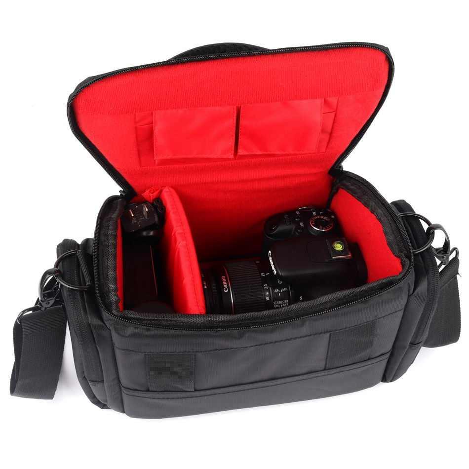 Sac à bandoulière pour appareil photo reflex numérique pour sac Nikon Sony alpha A7M3 A6000 A7 A7Rii A7Mark ii iii A77 A58 A9 A7Riii étui d'appareil photo numérique