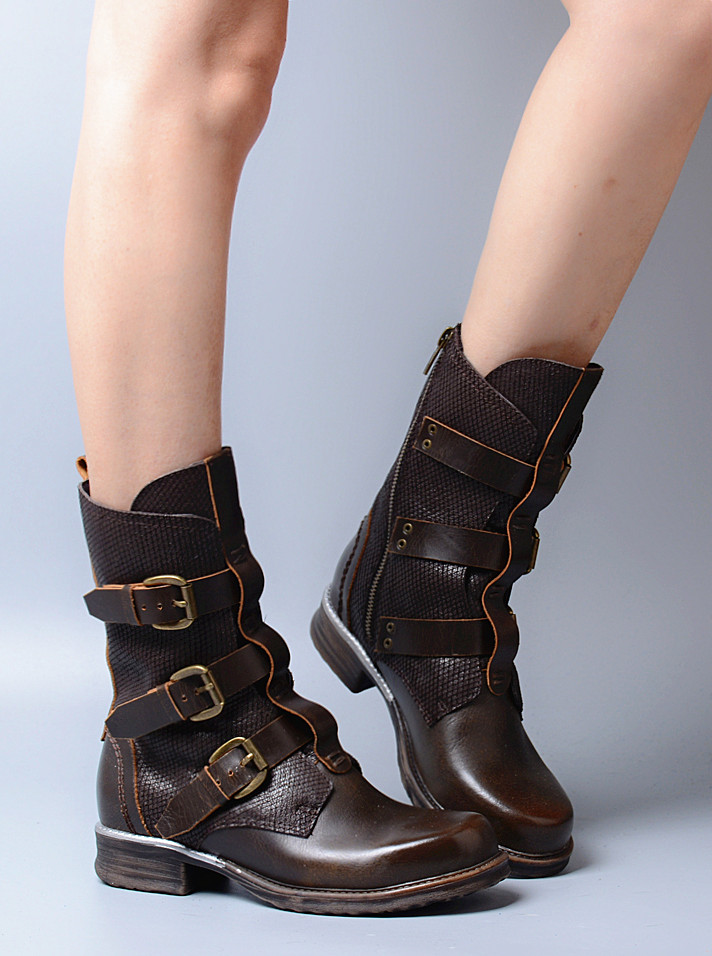 Popular Brown Combat Boots Women Cheap-Buy Cheap Brown Combat ...