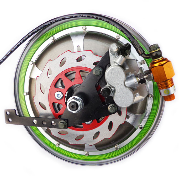 STARPAD for Mount Electric Vehicle drum brake disc modified 110 double pump to increase conversion ABS disc brakes fitted [Left] starpad for atv for former bulls great big dinosaur 1 trailer 2 brake hydraulic disc brake assembly one with two double disc