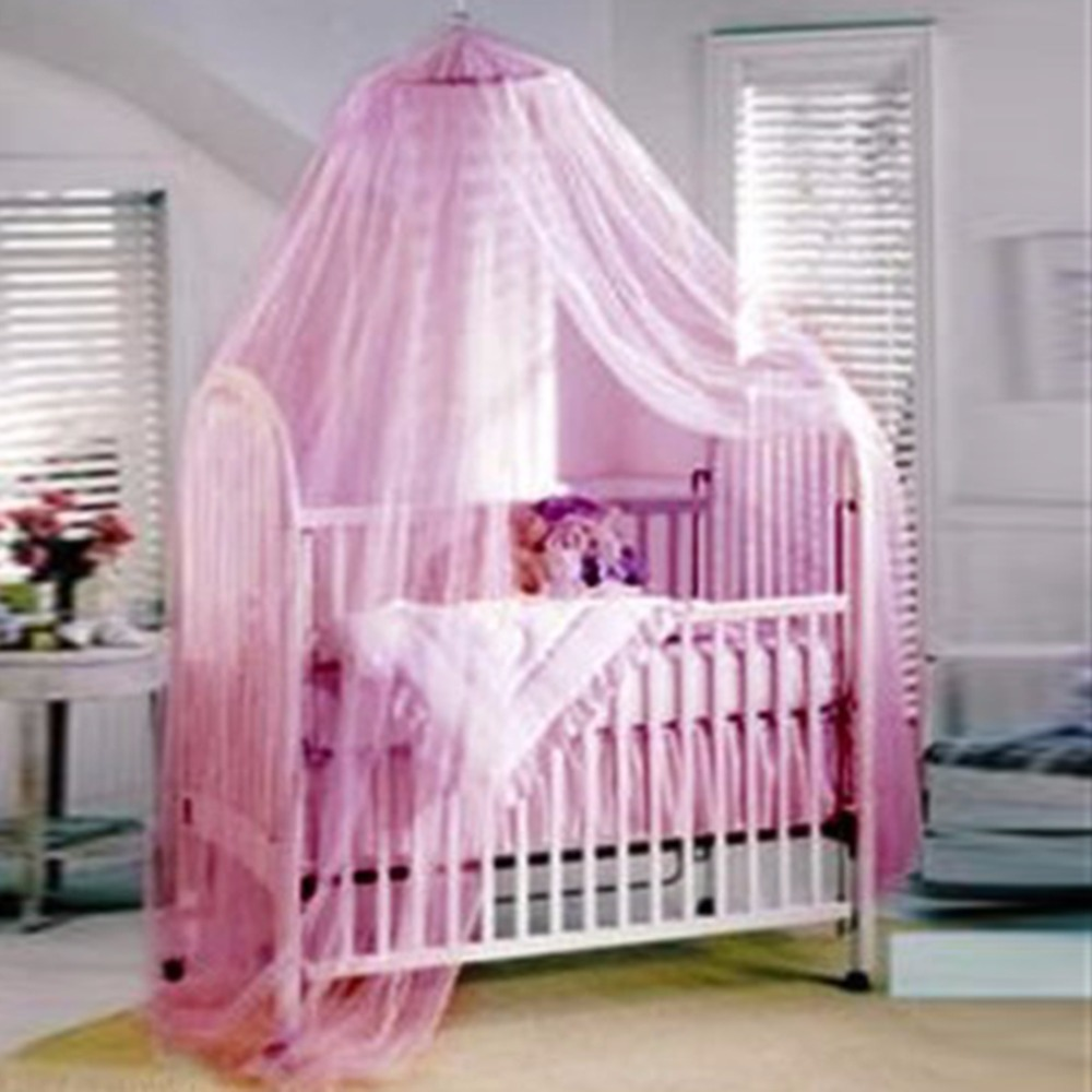 Home Elegent Summer House Bed Netting Baby Canopy Circular Mosquito Net White/Pink Mosquitera Malla De Mosquito Hot New & Online Get Cheap House of Canopies -Aliexpress.com | Alibaba Group