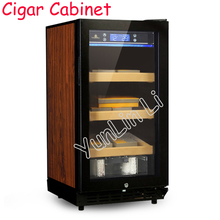 Cigar Cabinet Constant Temperature And Humidity Cigar Storage Cabinet Electriclly Three-Layer Parquet  LF-9001