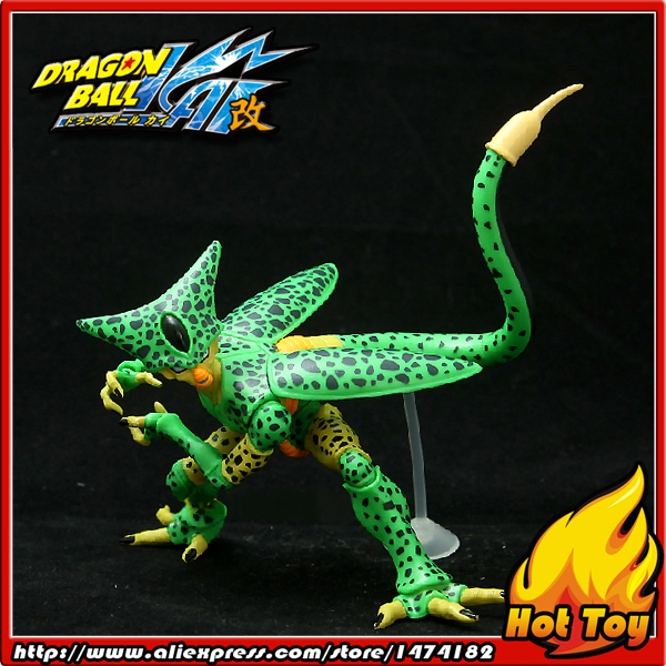 100% Original BANDAI Gashapon PVC Toy Figure HG Part 4 - Cell 1st Form from Japan Anime Dragon Ball Z 100% original bandai gashapon pvc toy figure hg part 14 perfect cell from japan anime dragon ball z 11cm tall