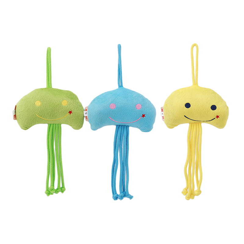Pet Products Cat Kitten Teaser Scratching Chew Toys Pet Dog Puppy Jellyfish Plush Toy Funny Interactive Toys For Pet Training Pet Products Without Return