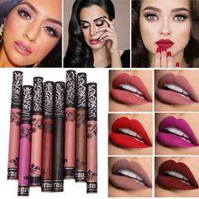 15 colors 2017 New Velvet Matte Lipstick Waterproof Lip Gloss  Velvet Matte Liquid Lipstick