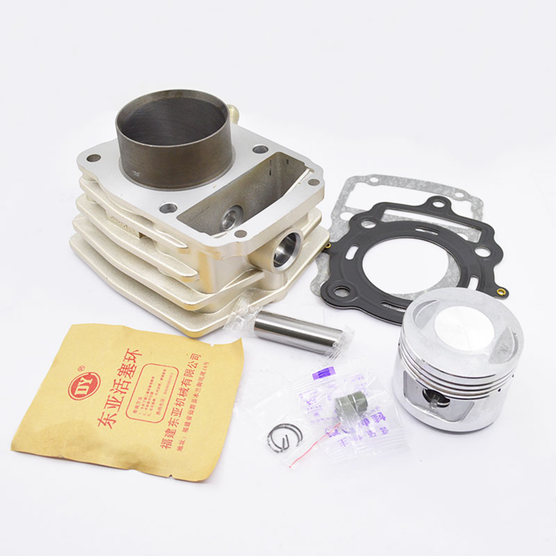 High Quaity Motorcycle Cylinder Kit For LONCIN LOVOL CG150 CG175 CG200 TG210 Water-cooled Engine Spare Parts high quaity motorcycle cylinder kit 62mm bore for zongshen lovol cg200 cg 200 water cooled engine spare parts