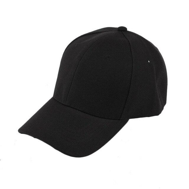 Pendatang BARU Unisex Anak Muda Gaya Topi baseball cap Busana Polo Katun  Bahan Wanita Pria Baseball 327d332bd5
