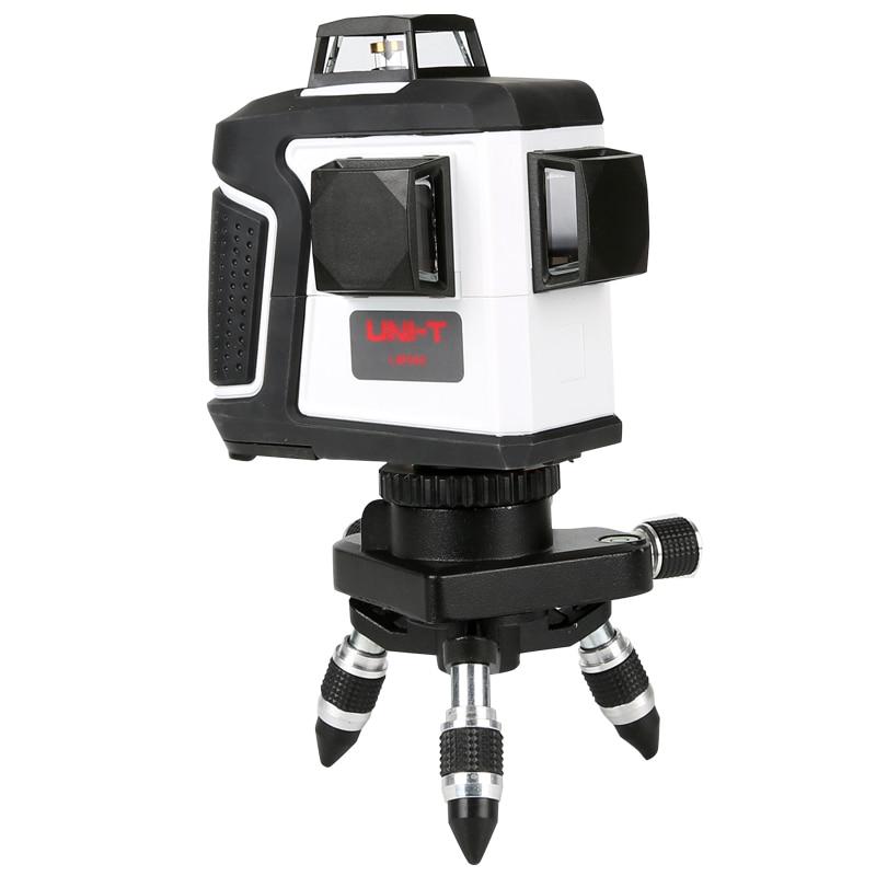 3D 12 Linee di Livello Laser Auto-Livellamento 360 Orizzontale e Verticale Croce Lazer Nivel Red Level Laser Linea Verde i livelli di