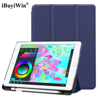 Magnetic Smart PU Leather Case For IPad 9 7 2017 2018 A1822 A1893 Tablet Funda Cover