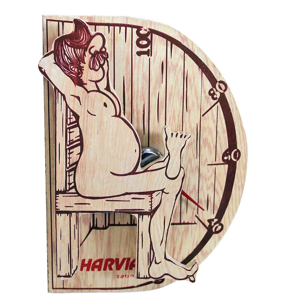 Free Shipping High Quality Sauna Accessory Cartoon Design Sauna Equipment Thermometer Hygrometer