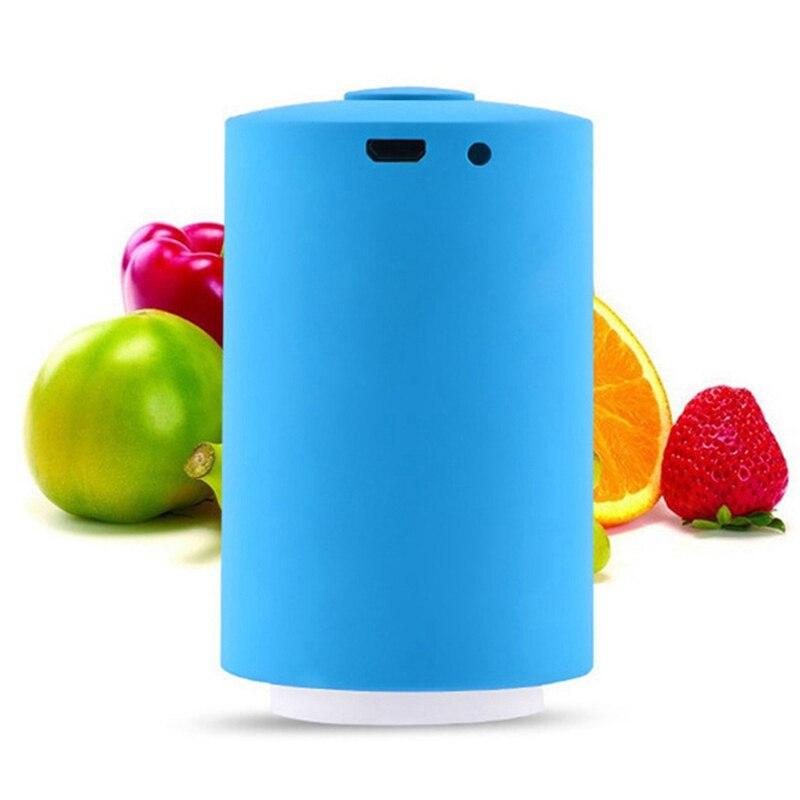 Вакуумный мини-насос с автоматическим сжатием, Электрический вакуумный насос для кухни, Gagdet, инструмент для кухни с мешком для свежих проду...