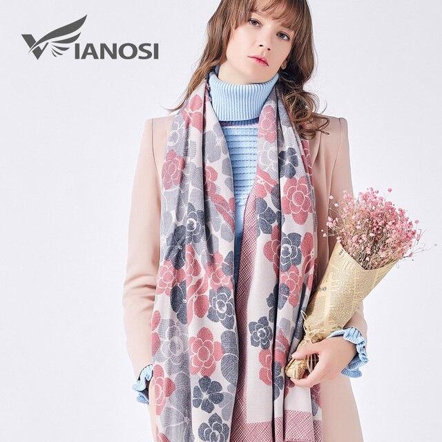 VIANOSI 3 Styles Cashmere Scarf Women Winter Scarves Wrap Plaid Luxury Brand Foulard Fashion Bufandas Mujer 2018 Scarf