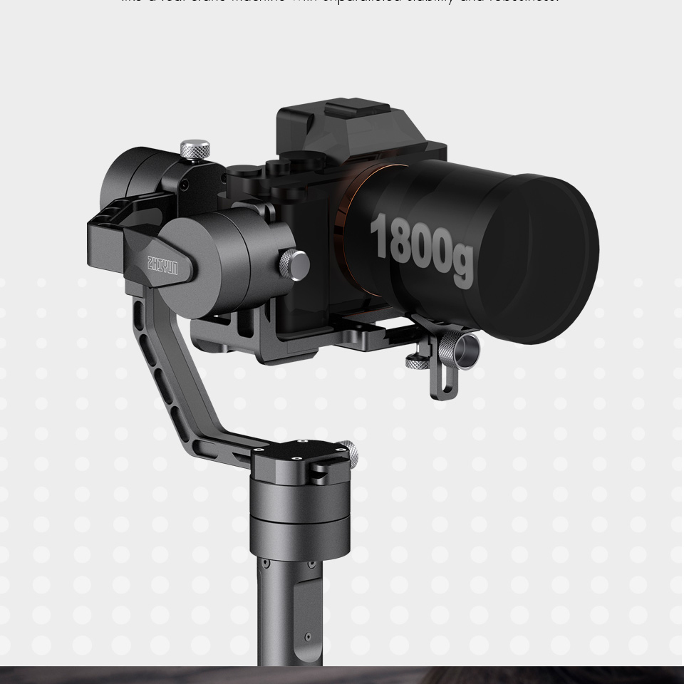 ZHIYUN Official Crane V2 3-Axis Brushless Handheld Gimbal Stabilizer KitGOODQUALITY
