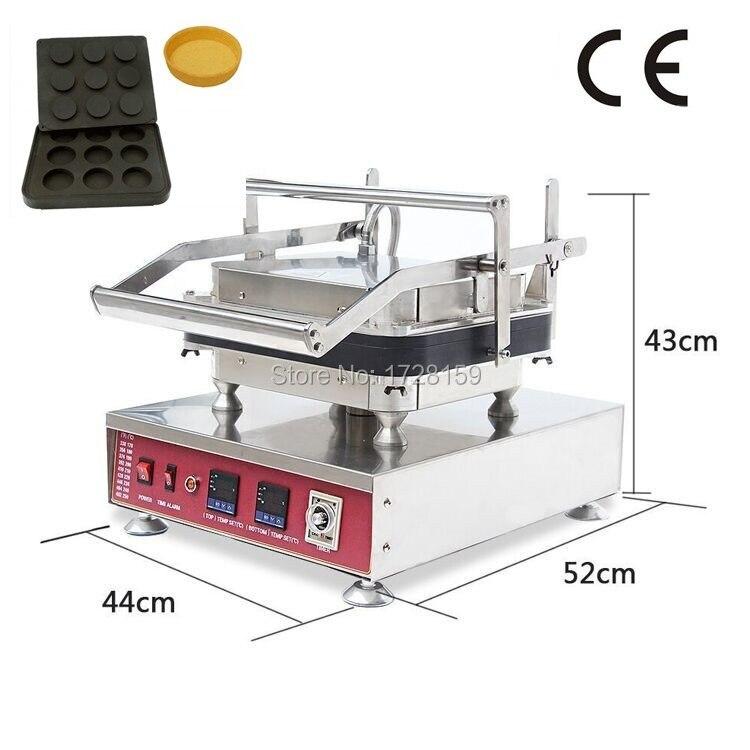 Яблочный пирог пироги яйца и фруктов пироги яйца производитель машина для продажи, 9 отверстия пироги яйца В виде ракушки чайник для закусок
