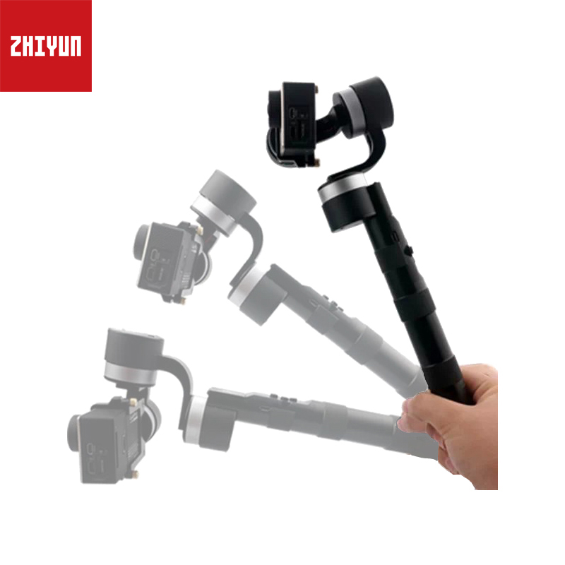 ZHIYUN Z1-PROUND 3-Axis Handheld Action Camera Gimbal Stabilize Brushless Gimbal Stabilizer for GoPro Hero 3/3+/4 DSLR Camera fpv 3 axis cnc metal brushless gimbal with controller for dji phantom camera drone for gopro 3 4 action sport camera only 180g